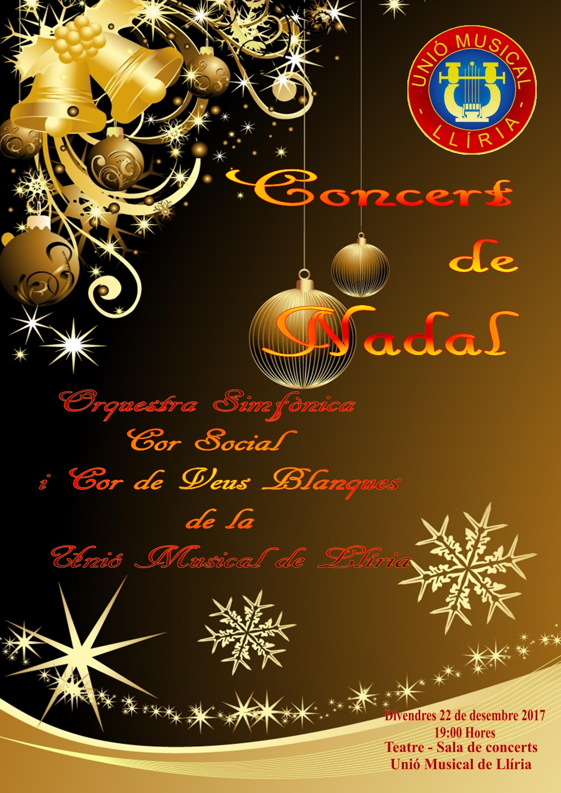 cartell concert nadal 2017
