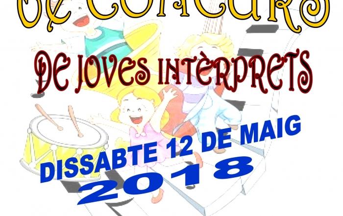 Cartel - 6 concurso jovenes interpretes