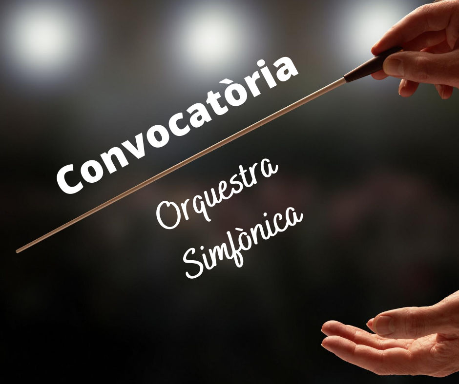 CONVOCATÒRIA ORQUESTRA JOVE UNIÓ MUSICAL DE LLÍRIA