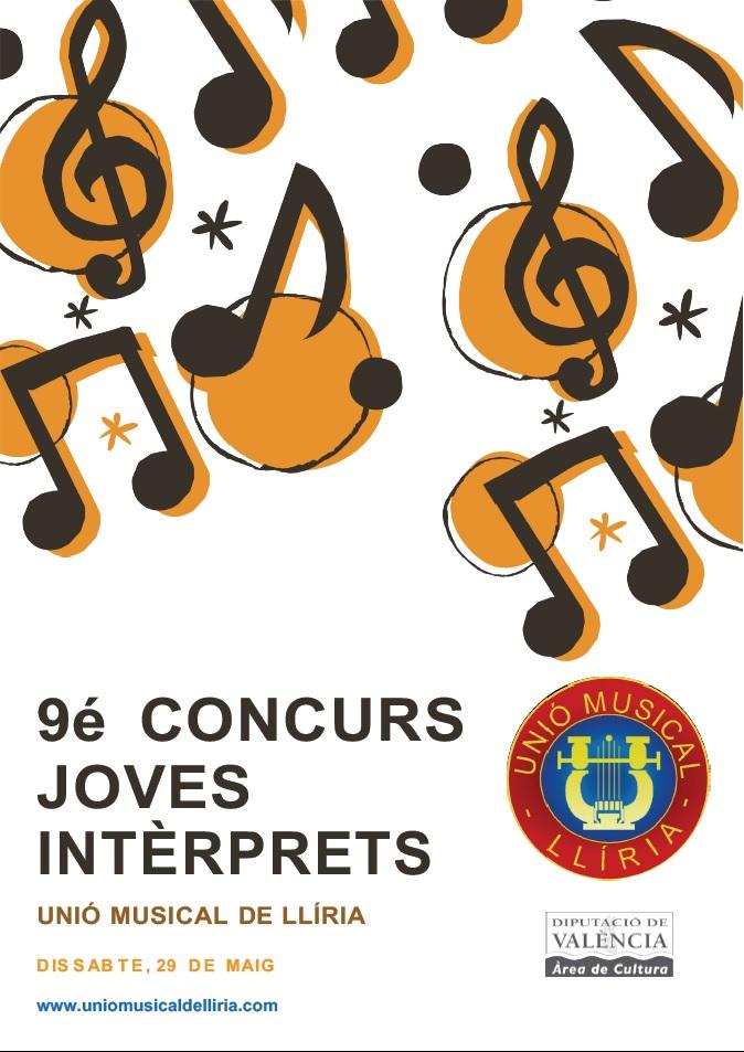 9é. Concurs de Joves Intèrprets Unió Musical de Llíria