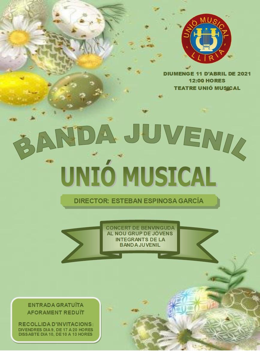 Concert de benvinguda al nou grup de components de la Banda Juvenil