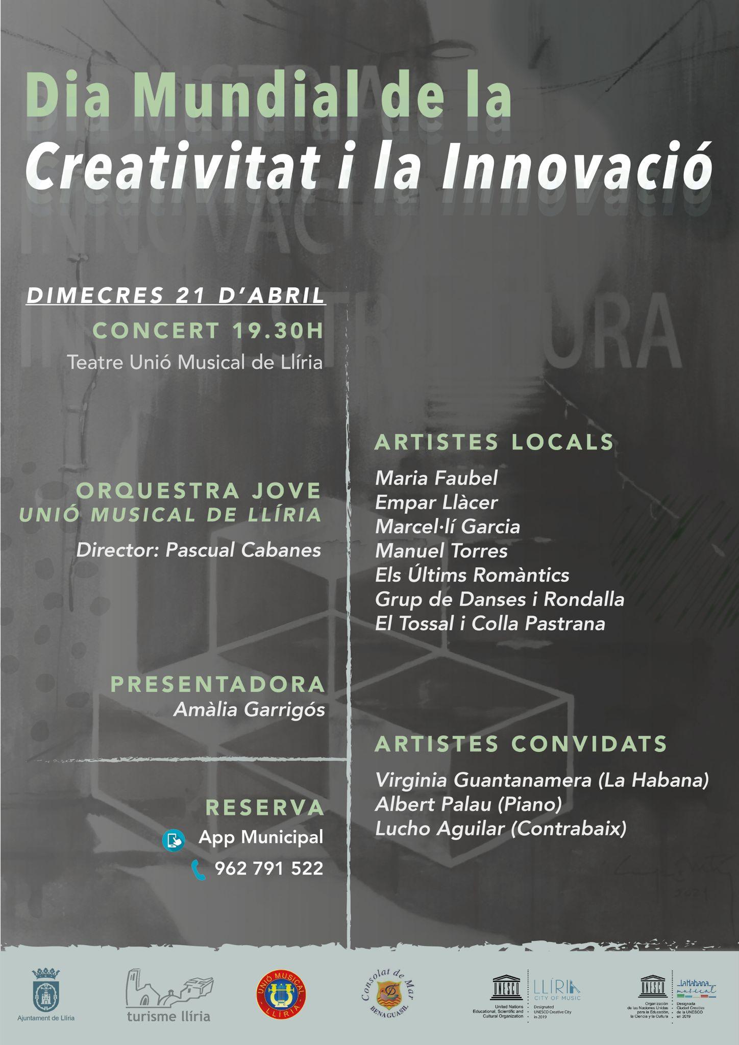 Llíria celebra el Dia Mundial de la Creativitat i la Innovació